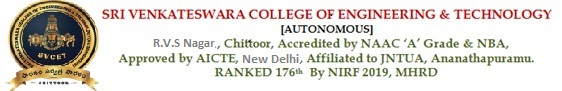 ACCREDITED BY NBA UPTO 30.6.2021 - SVCET