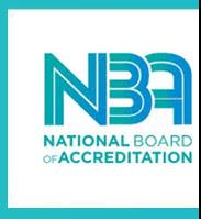 ACCREDITED BY NBA UPTO 30.6.2021